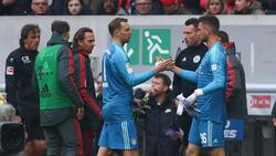 Manuel Neuer musste frühzeitig vom Feld