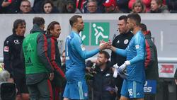Sven Ulreich (re.) ersetzte am Sonntag Manuel Neuer in der 2. Halbzeit