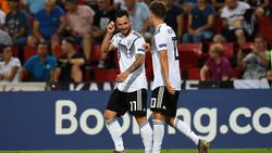 Die Torgaranten der DFB-Youngster: Marco Richter (l.) und Luca Waldschmidt