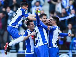 Marc Navarro marcó su segundo gol en su segundo partido de LaLiga. (Foto: Getty)
