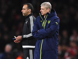 Gunners-Coach Arsène Wenger hadert mit den Unparteiischen