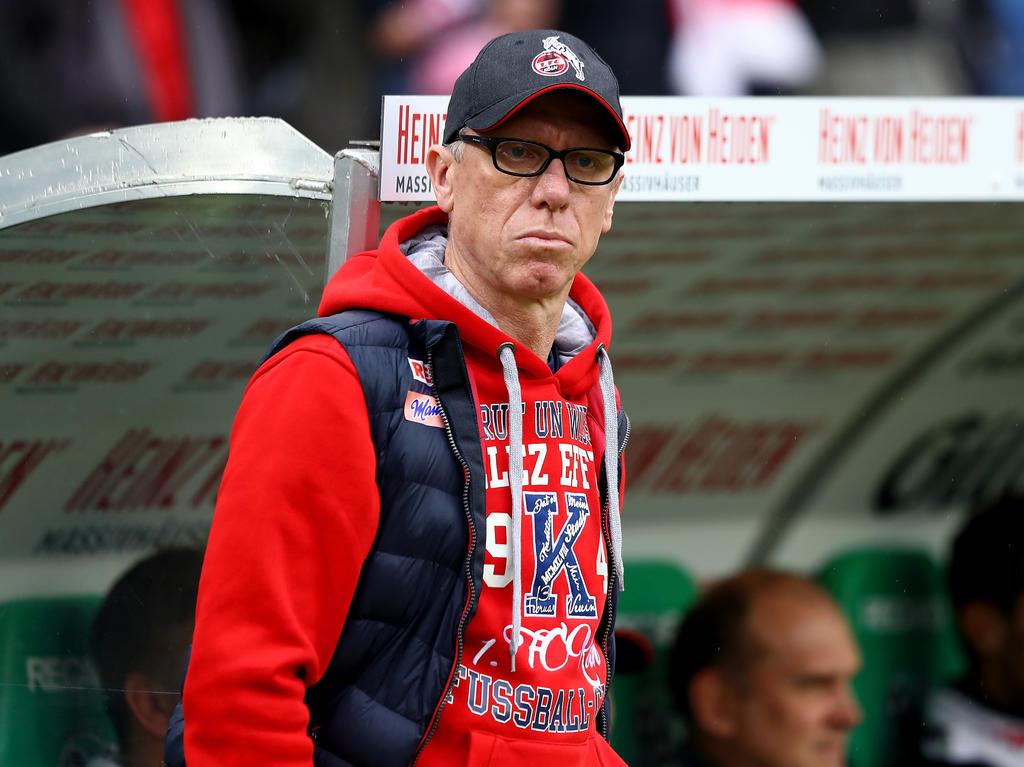 Peter Stöger durchlebt seine schwierigste Phase beim 1. FC Köln