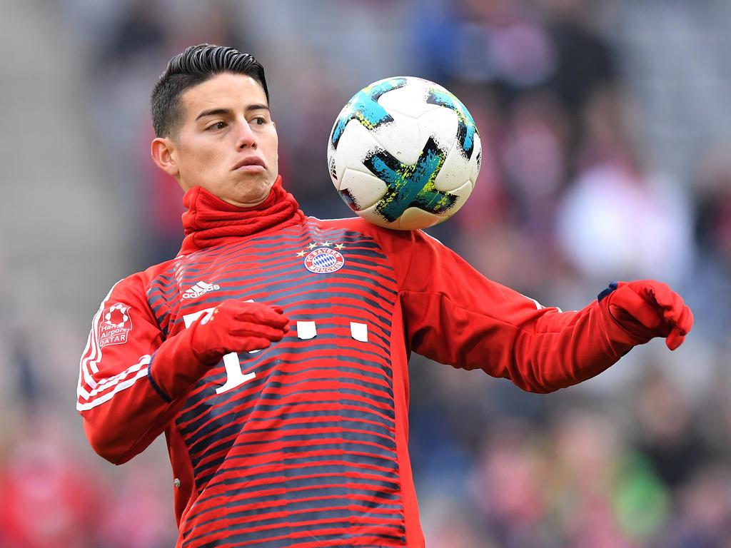 James Rodríguez ist in München angekommen
