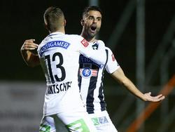 Juan Domínguez (r.) ist aus dem Sturm-Mittelfeld nicht wegzudenken