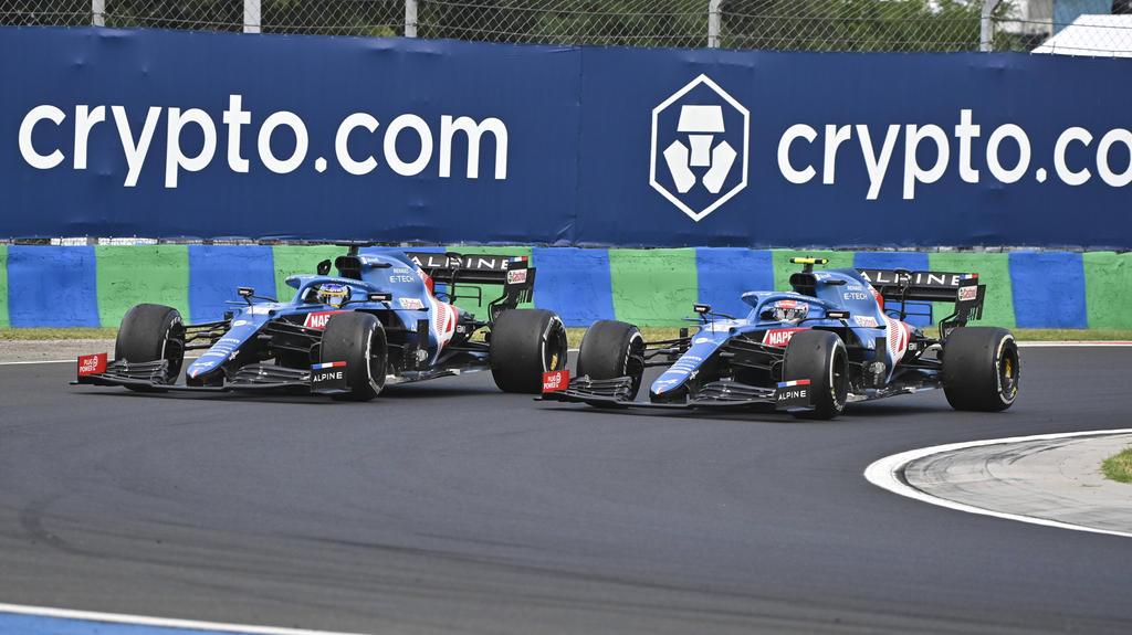 Alpine: Esteban Ocon/Fernando Alonso
