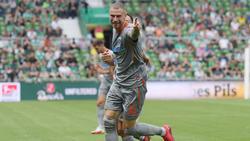 Felix Platte erzielte gegen den BVB zwei Tore