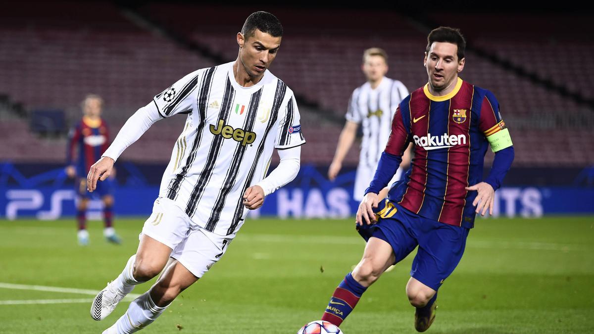 Messi und Ronaldo dominieren den Weltfußball sowie FIFA seit vielen Jahren