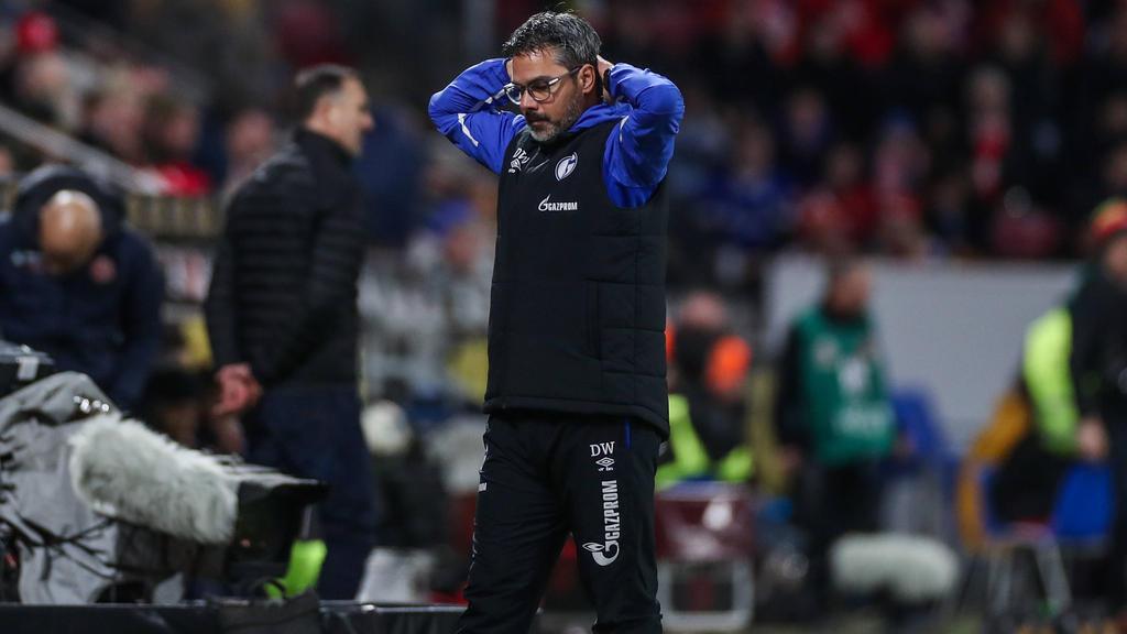 Die Offensive des FC Schalke 04 bereitet David Wagner aktuell Kopfzerbrechen