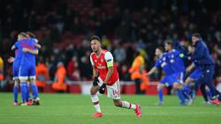 Der FC Arsenal scheiterte in der Europa League an Olympiakos Piräus