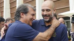 Joan Laporta will wieder Präsident des FC Barcelona werden. Foto: Marta Fernández/Europapress/dpa