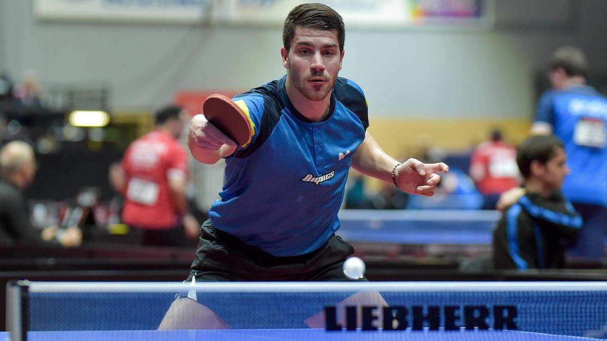 Sicherte sich mit Saarbrücken den deutschen Tischtennis-Titel: Patrick Franziska