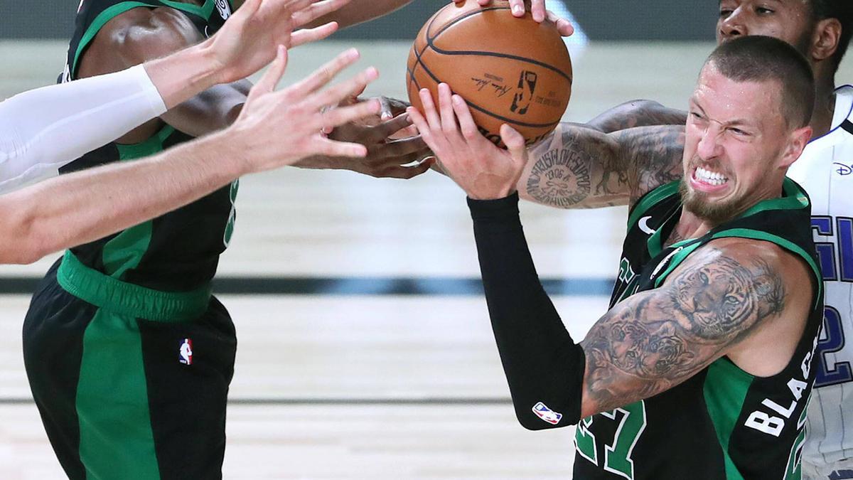 Daniel Theis von den Boston Celtics erzielte gegen die Miami Heat 15 Punkte (Symbolbild)