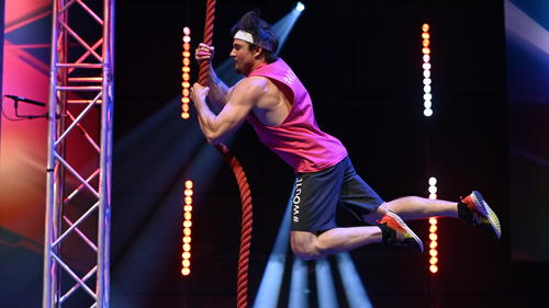 Ninja-Doc Uwe Weitzer ist in der 5. Staffel ins Halbfinale geflogen