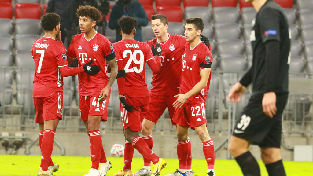 Champions League » News » Bayern reach last 16 as Lewandowski matches Raul  goal tally