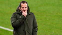 Manuel Baum wartet als Schalke-Trainer immer noch auf seinen ersten Sieg