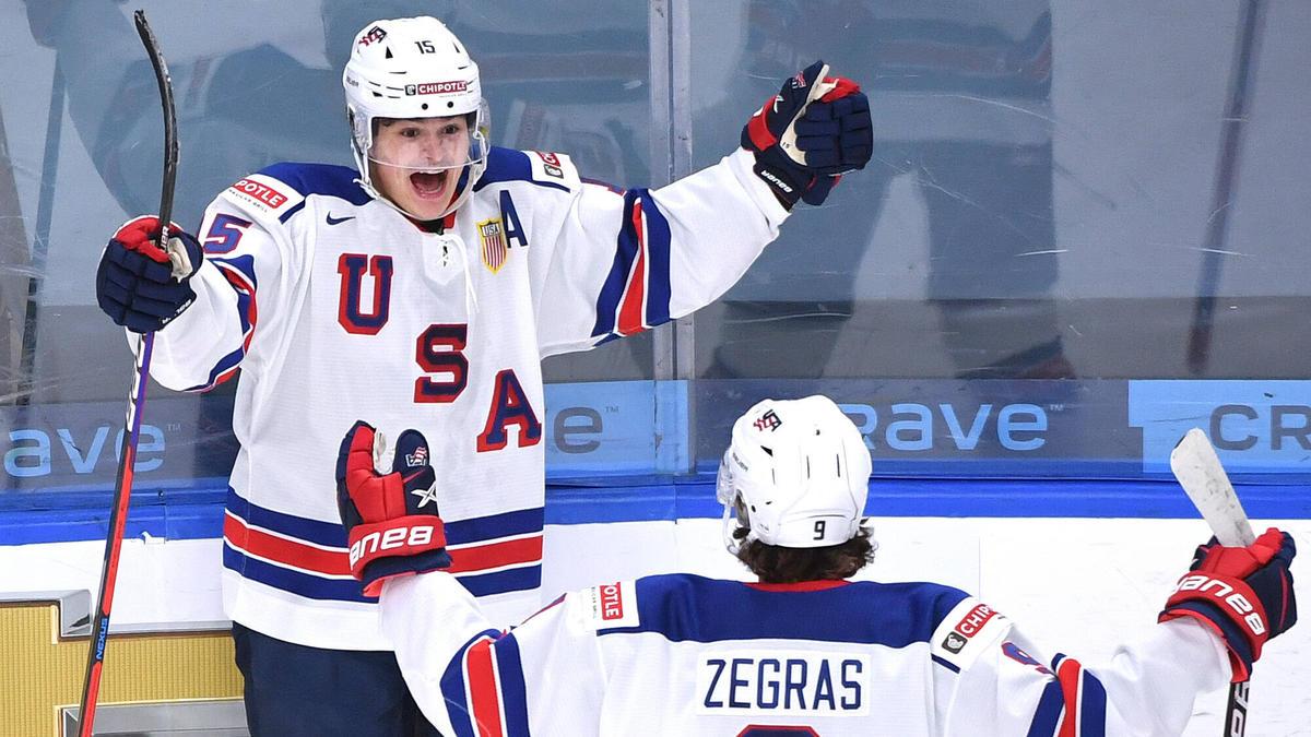 Die US-Junioren bezwangen den Erzrivalen Kanada im WM-Finale