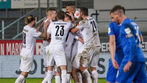 Der SV Sandhausen bezwingt Heidenheim deutlich