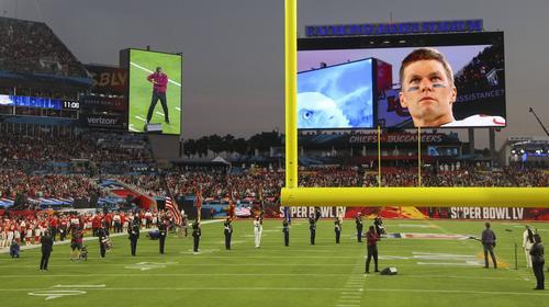 Tom Brady gewann mit 42 Jahren zum siebten Mal den Super Bowl