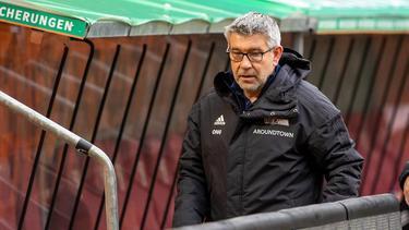 Union-Trainer Urs Fischer warnte vor Gladbach