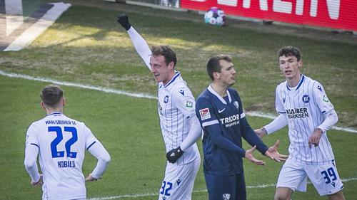 Der VfL Bochum musste sich dem KSC geschlagen geben
