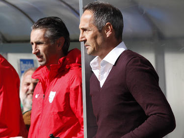 Edi (li.) und Adi (r.) bildeten beim SV Grödig ein erfolgreiches Duo