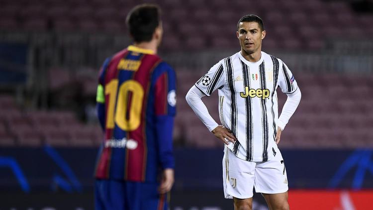 Lionel Messi und Cristiano Ronaldo (r.) könnten bald das gleiche Trikot tragen