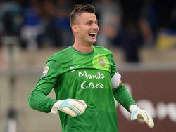Grund zur Freude: Keeper Rafael steht mit Hellas Verona auf Platz vier und erhält vom Verein einen neuen Vertrag