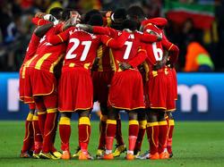 I giocatori del Ghana