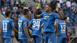 Adam Szalai erzielte gegen Freiburg zwei Tore