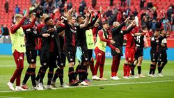 Bayer Leverkusen bejubelt die ersten Punkte der Saison