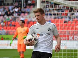 Denis Linsmayer bleibt auch nächste Saison für Sandhausen am Ball