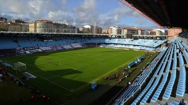 Imagen del estadio de Balaídos, en Vigo.