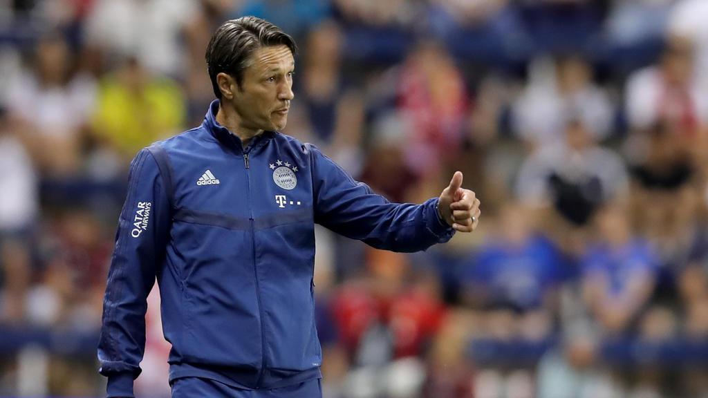 Niko Kovac hofft auf einen Transfer von Leory Sané