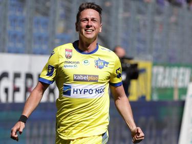 René Gartler geht in Zukunft in der zweiten Liga auf Torjagd