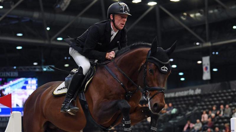 Marcus Ehning auf seinem Pferd Stargold