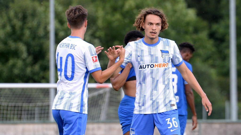 Hertha BSC bleibt in der Vorbereitung erfolgreich