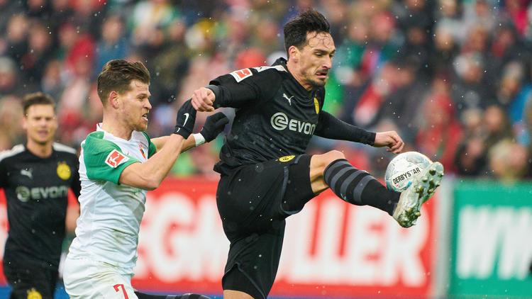 Der BVB kassierte beim FC Augsburg drei Gegentore