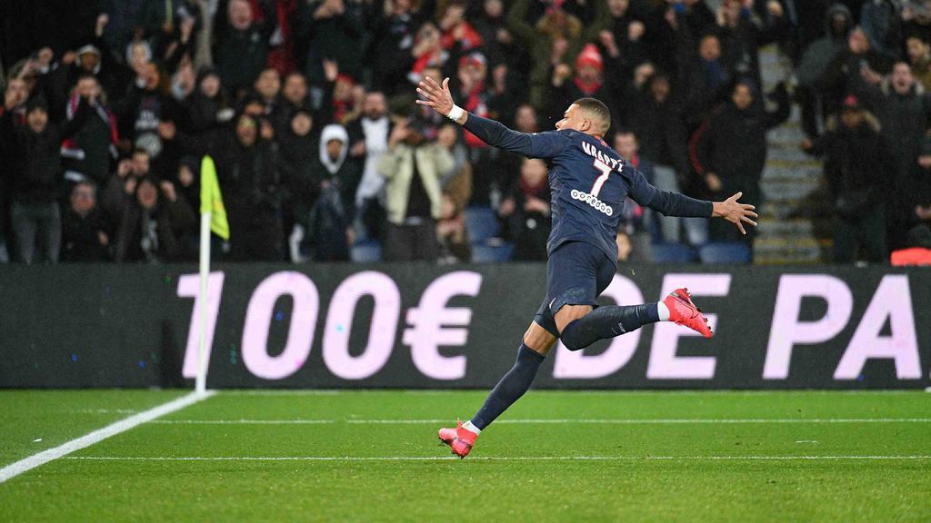 Trifft mit PSG auf den BVB: Superstar Kylian Mbappé