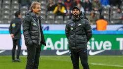 Alexander Nouri (r.) war unter Jürgen Klinsmann Co-Trainer bei Hertha BSC