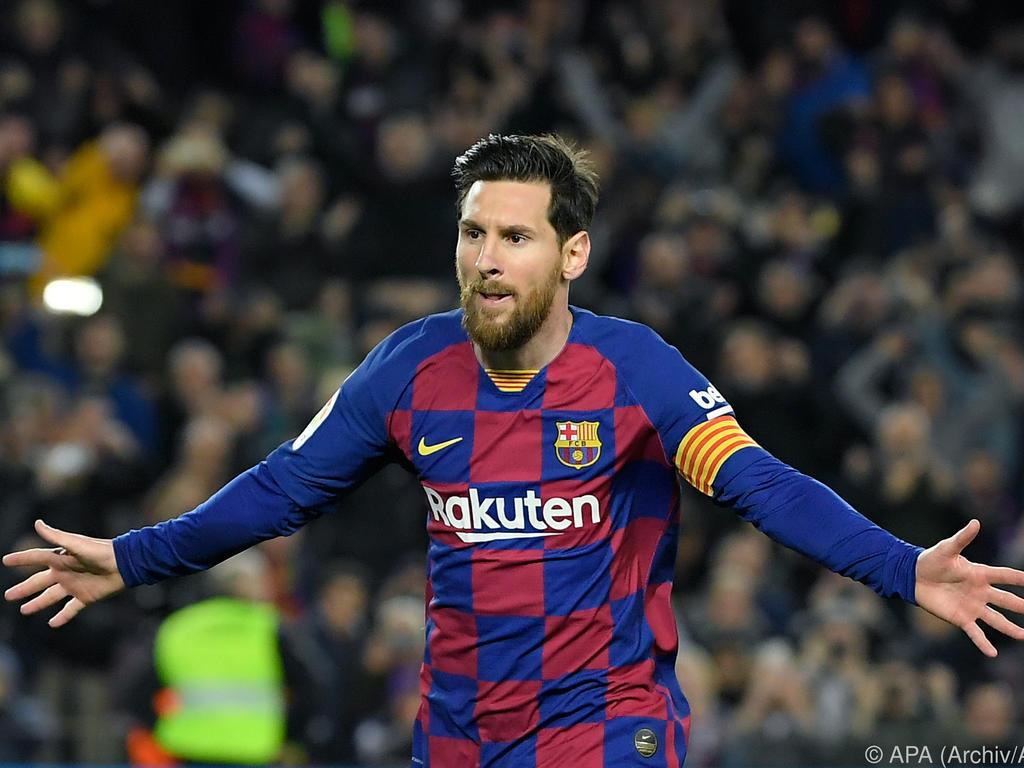 Jubelt derzeit nur über Tore für den FC Barcelona: Lionel Messi. Foto: Manu Fernandez/AP/dpa