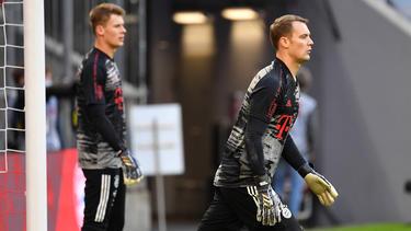 Manuel Neuer muss im DFB-Pokal für Ersatzmann Alexander Nübel weichen