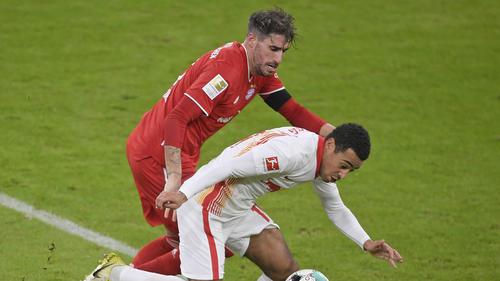 Musste beim FC Bayern verletzt ausgewechselt werden: Javi Martínez