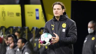 BVB-Coach Edin Terzic war nicht zufrieden
