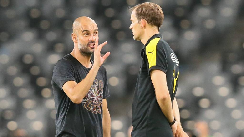 Pep Guardiola und Thomas Tuchel trafen schon mehr als einmal aufeinander