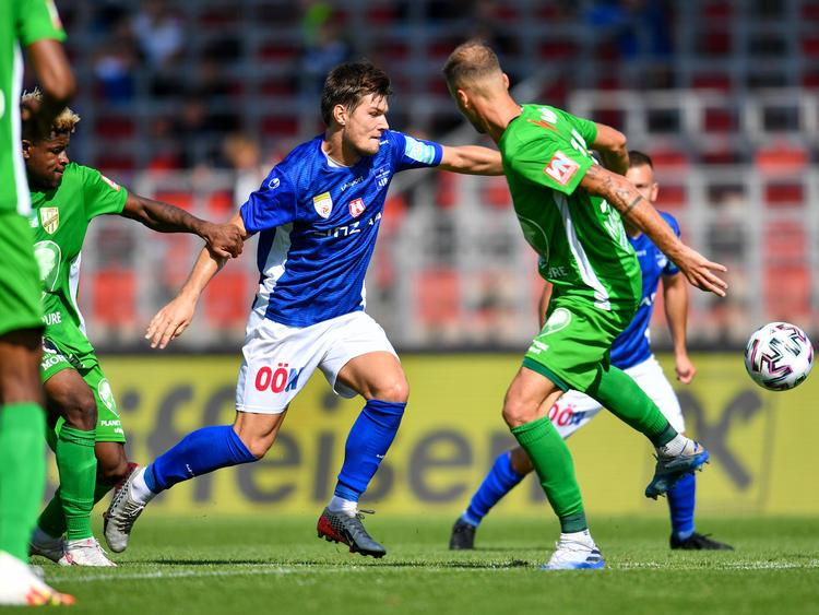BW Linz gegen Austria Lustenau