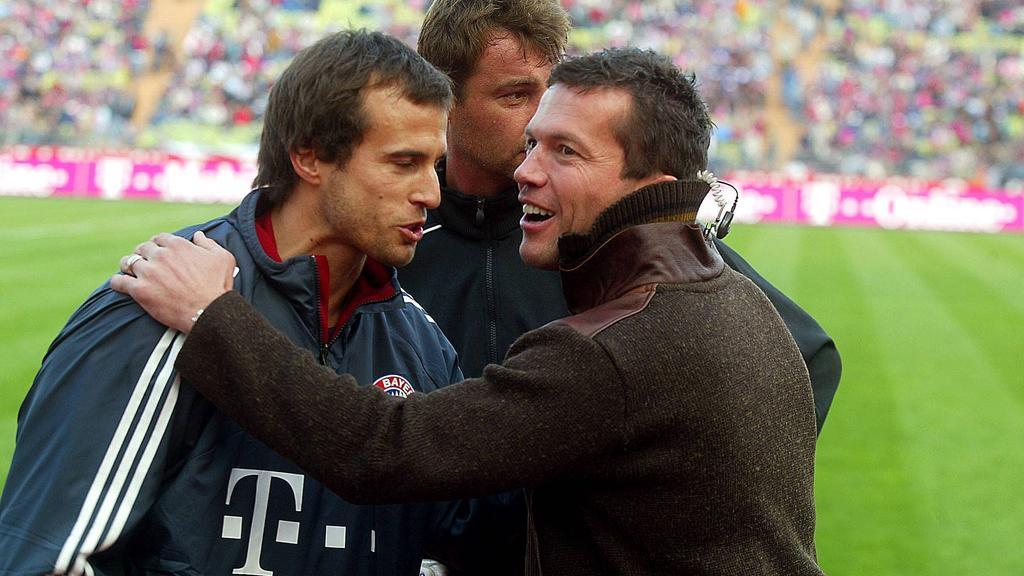 Lothar Matthäus (r.) ist für Mehmet Scholl eine echte Alternative zu Joachim Löw