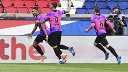 Mbappé traf doppelt für PSG