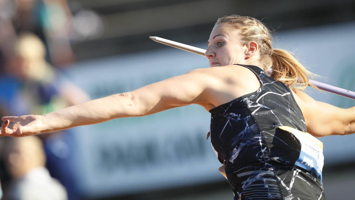 Christin Hussong gewann in Turku
