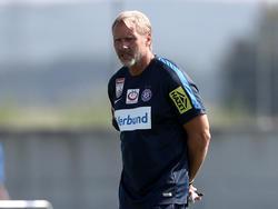 Thorsten Fink hofft auf einen Befreiungschlag seiner Mannschaft just gegen den zu favorisierenden Rosenborg BK
