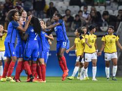 Frankreich gelingt ein souveräner Auftaktsieg